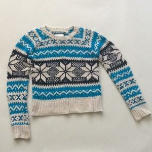 American Eagle Outfitters Lg Snowflake Sweater